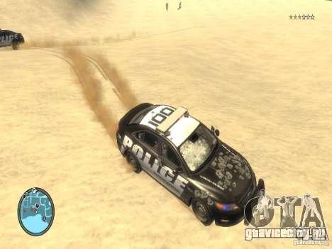 Ford Taurus Police для GTA 4 салон