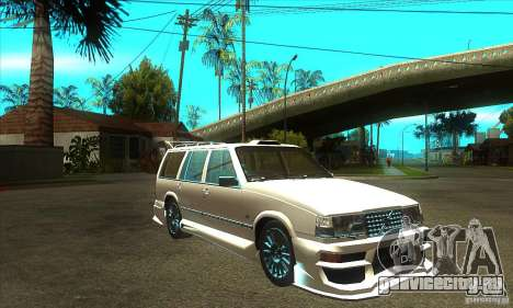 Volvo 945 Wentworth R with bodykit (1.2) для GTA San Andreas вид сзади