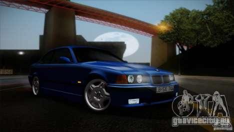 BMW M3 E36 для GTA San Andreas вид сверху