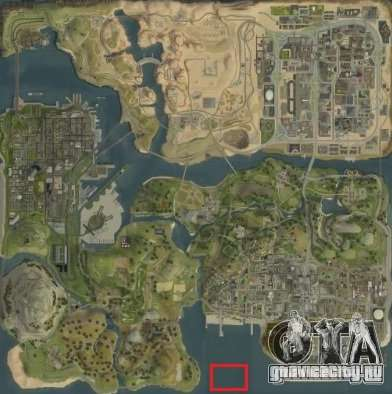 Tokyo Drift map для GTA San Andreas шестой скриншот