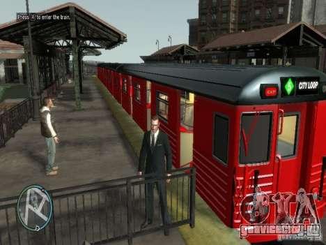Поезд Redbird v1.0 для GTA 4