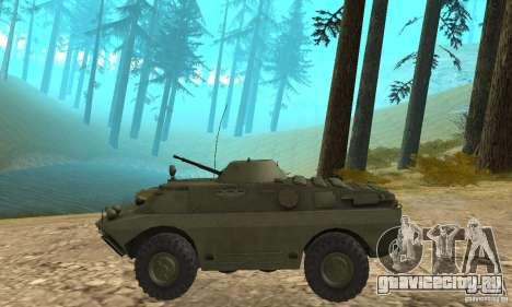 БРДМ-2 Стандартный вариант для GTA San Andreas вид сзади слева