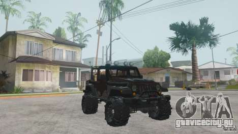 Jeep Wrangler Off road v2 для GTA San Andreas