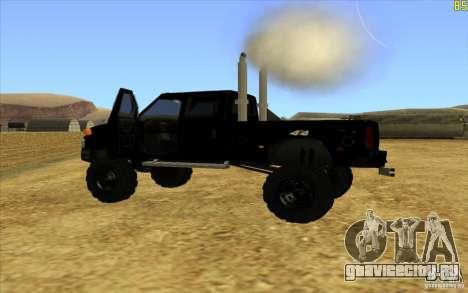 GMC Topkick Ironhide TF3 для GTA San Andreas вид слева
