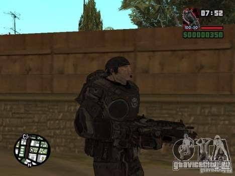 Маркус Феникс из Gears of War 2 для GTA San Andreas второй скриншот
