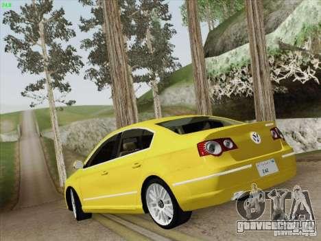 Volkswagen Magotan 2011 для GTA San Andreas вид снизу