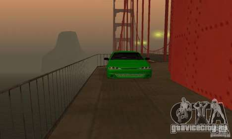 ВАЗ 2113 ADT Art Tuning для GTA San Andreas вид изнутри