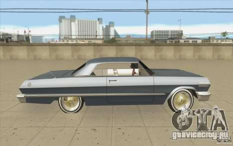 Voodoo для GTA San Andreas вид изнутри