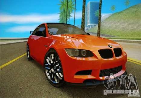 BMW M3 GT-S Final для GTA San Andreas вид справа