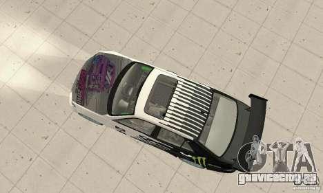 Lexus IS300 Drift Style для GTA San Andreas вид сзади слева