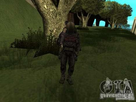 Долговец в костюме для GTA San Andreas пятый скриншот