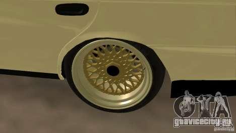 Toyota Corolla Tuned для GTA San Andreas вид справа