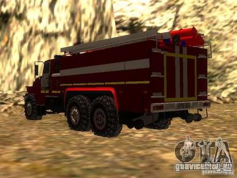 Урал 43206 АЦ 3.0-40 (6x6) для GTA San Andreas вид слева