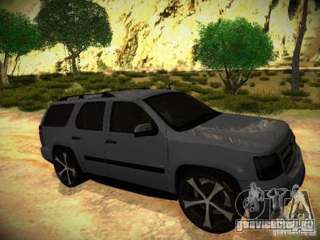Chevrolet Tahoe HD Rimz для GTA San Andreas вид справа