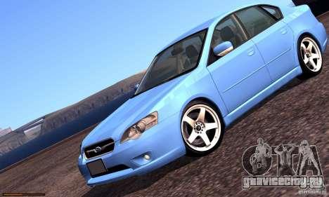 Subaru Legacy 2004 v1.0 для GTA San Andreas двигатель