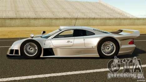 Mercedes-Benz CLK GTR AMG для GTA 4 вид слева