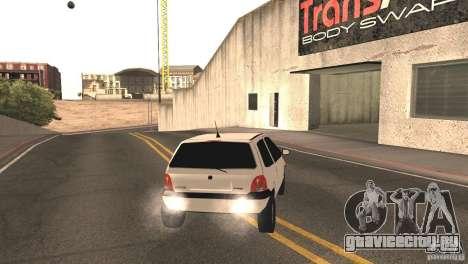 Renault Twingo для GTA San Andreas вид сзади слева