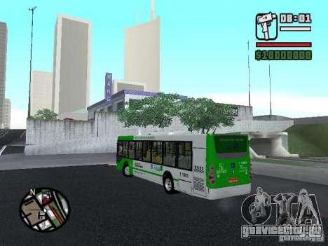 H Hibrido TUTTO 15M UPB C2 EX DR для GTA San Andreas вид слева
