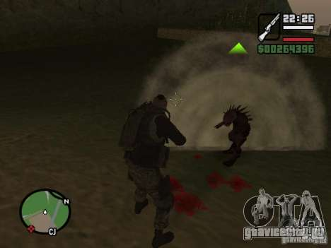 Chupacabra для GTA San Andreas седьмой скриншот