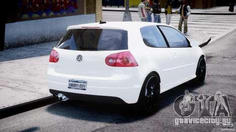 Volkswagen Golf 5 GTI для GTA 4 вид сбоку
