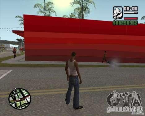 Магазином Ecko для GTA San Andreas четвёртый скриншот