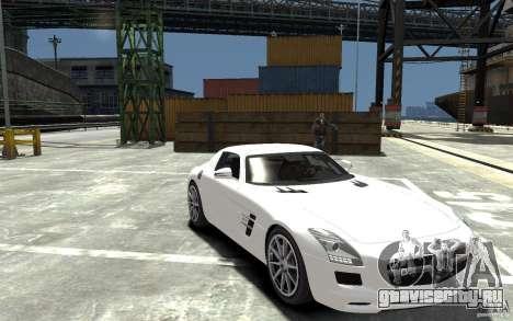 Mercedes-Benz SLS AMG 2011 v3.0 для GTA 4 вид сзади