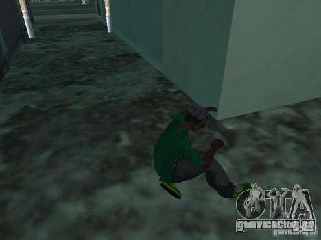 Новые зелёные кросовки для GTA San Andreas третий скриншот