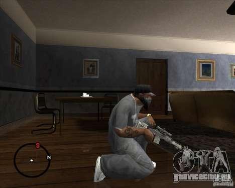 M14 EBR для GTA San Andreas второй скриншот