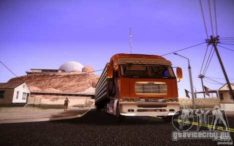 Freightliner Argosy для GTA San Andreas вид слева