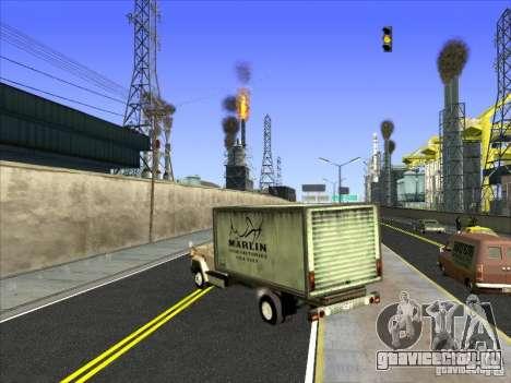 Yankee на базе GMC для GTA San Andreas вид справа