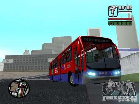 Busscar Urbanuss Pluss VW 17-230 EOD Alongado для GTA San Andreas