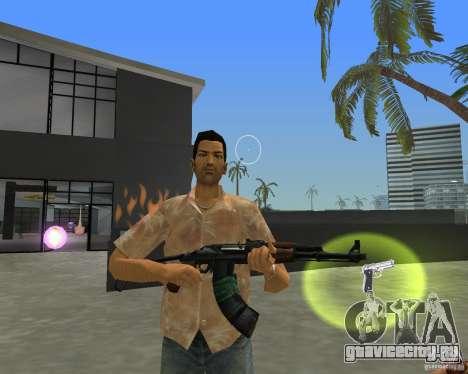 АКС-74 для GTA Vice City второй скриншот