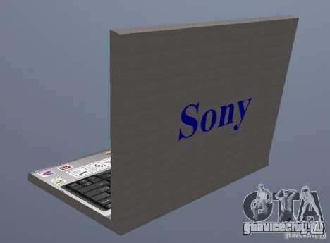Laptop Haft-Bombe для GTA San Andreas второй скриншот