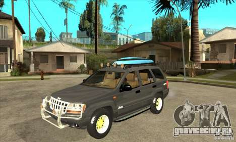 Jeep Grand Cherokee 2005 для GTA San Andreas