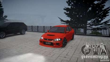 Mitsubishi Lancer Evolution 8 v2.0 для GTA 4