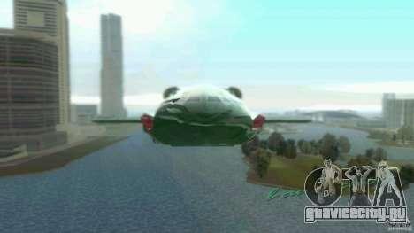ThunderBird 2 для GTA Vice City вид слева