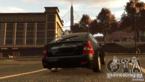 ВАЗ 2172 Приора купе сток для GTA 4 вид сзади слева