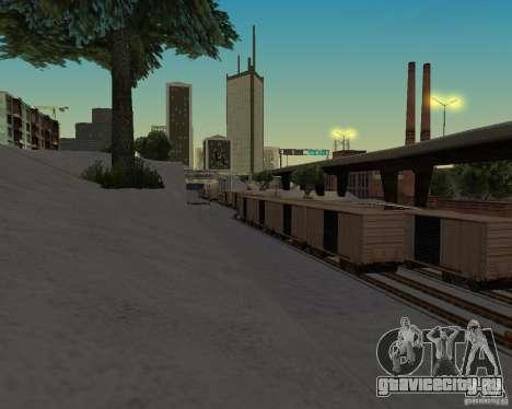 Новый вокзал для GTA San Andreas