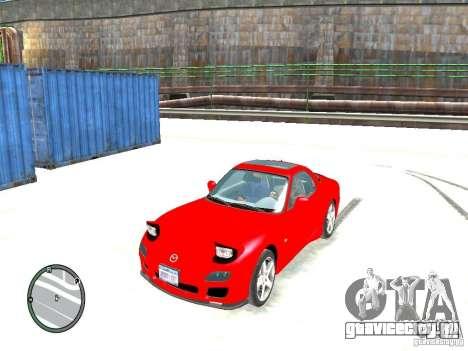 Mazda RX-7 Type RZ для GTA 4
