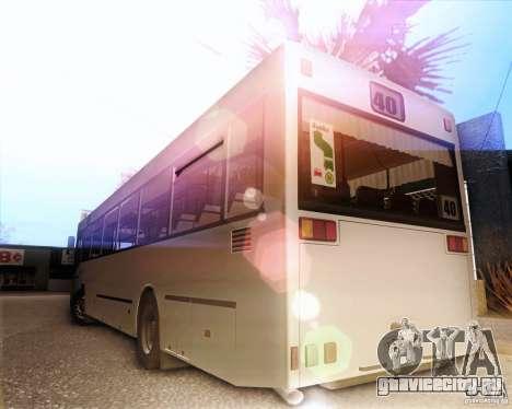 MAN SL202 для GTA San Andreas вид справа