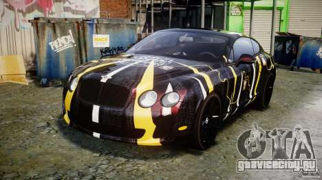 Bentley Continental SS 2010 Gumball 3000 [EPM] для GTA 4