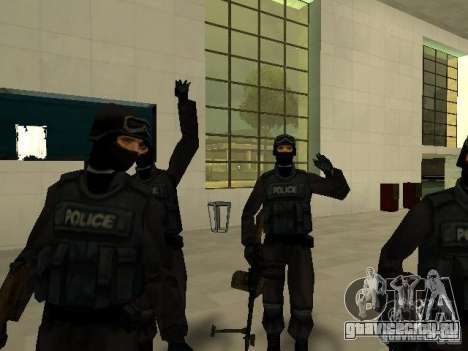 Подмога Спецназ для GTA San Andreas шестой скриншот