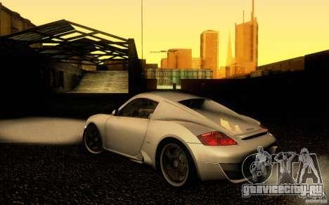 Ruf RK Coupe V1.0 2006 для GTA San Andreas вид слева