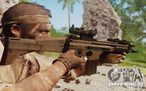 FN Scar L для GTA San Andreas пятый скриншот