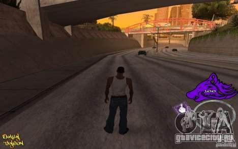 C-HUD by Roodney для GTA San Andreas