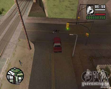 Камера как в игре GTA Chinatown Wars для GTA San Andreas второй скриншот