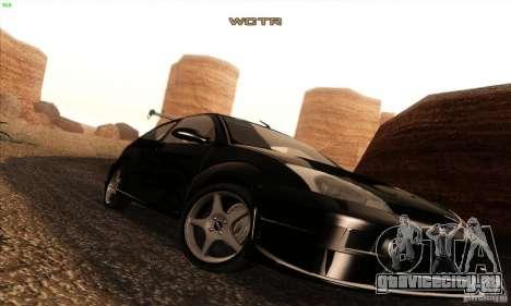 Ford Focus SVT TUNEABLE для GTA San Andreas вид сверху