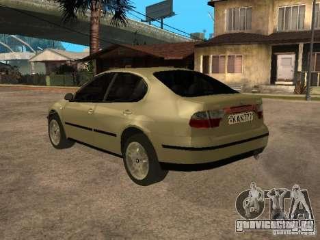 Seat Toledo 1.9 1999 для GTA San Andreas вид сзади слева