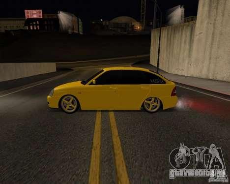 Lada Priora Хэтчбек для GTA San Andreas вид слева