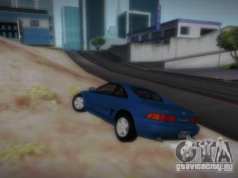 Toyota MR2 GT для GTA San Andreas вид справа